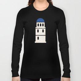 Santorini - Minimalist Board Games 01 Long Sleeve T-shirt