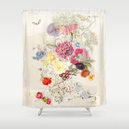 A remembrance of things past Shower Curtain