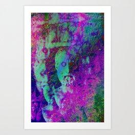 Bust 01 Art Print