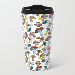 Mushroom Dreams Metal Travel Mug