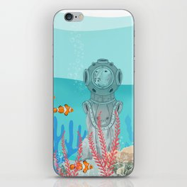 WATER DOG iPhone Skin