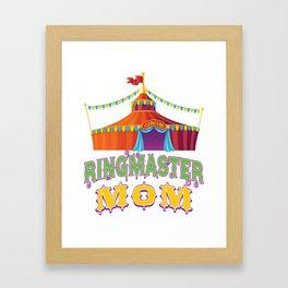Ringmaster Mom Style2 Framed Art Print