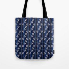 Traditional Japanese pattern MIZU-GURUMA Tote Bag