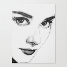 Audrey Hepburn (minimal) Canvas Print
