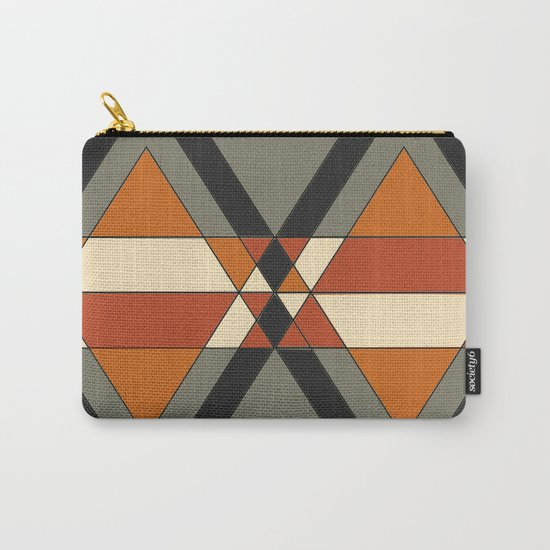 Tribal geometry Carry-All Pouch