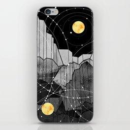 Astronomy mountains iPhone Skin