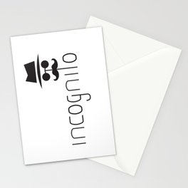incognito Stationery Cards