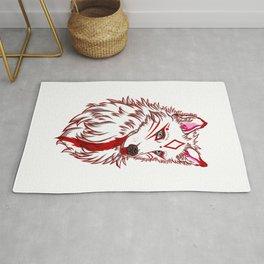 Torroch - Giant White Wolf Rug