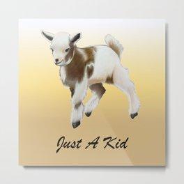 Goat Kid  Metal Print