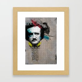 Edgar Allan Poe Framed Art Print