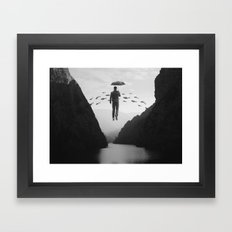 Journey to the Unknown Framed Art Print
