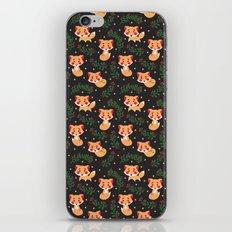 The Fox Pattern iPhone & iPod Skin