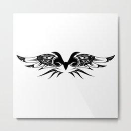Night of the Owl Metal Print