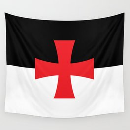 Knights Templar Flag - High Quality Wall Tapestry