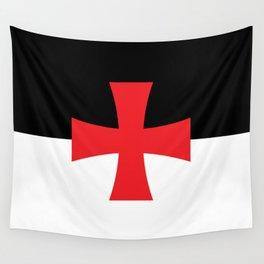 Knights Templar Flag Wall Tapestry