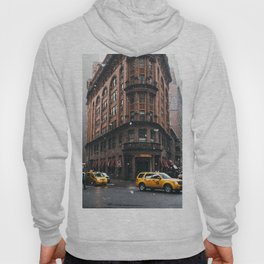 Snow showers in Financial District Hoody