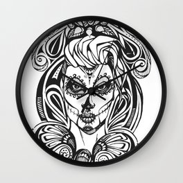 Day of the Dead India Wall Clock