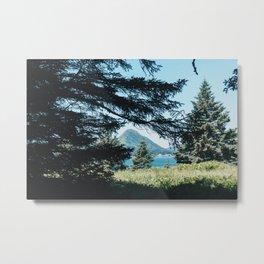 Hidden Mountain Metal Print