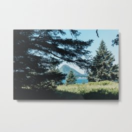 Hidden Mountain Metal Print