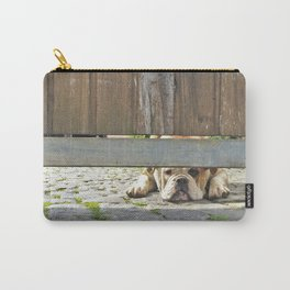 Waiting Bulldog Carry-All Pouch