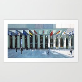 First Canadian Place Art Print