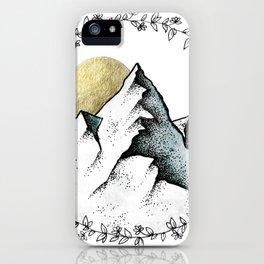 Color Mountain iPhone Case