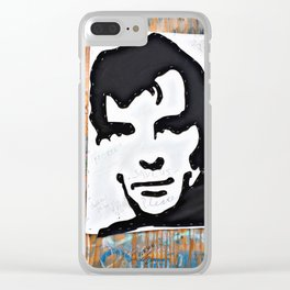 """HERE'S TO THE CRAZY ONES""/Jack Kerouac Clear iPhone Case"