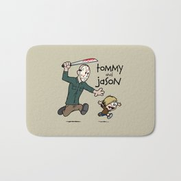 Tommy and Jason Bath Mat