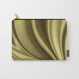 Abstract Fractal Colorways 02 Simple Gold Carry-All Pouch