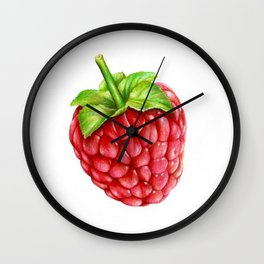 Raspberry Wall Clock