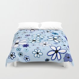 The Answer: Blue Duvet Cover