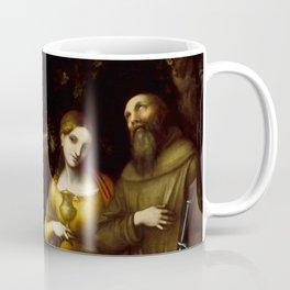 "Antonio Allegri da Correggio ""Saints Peter, Martha, Mary Magdalen, and Leonard"" Coffee Mug"