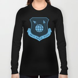Space Force - Space Wing (Blue) Long Sleeve T-shirt
