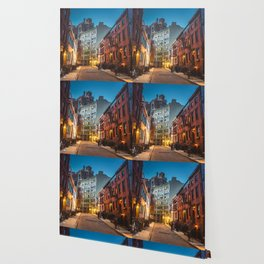 Twilight Hour - West Village, New York City Wallpaper