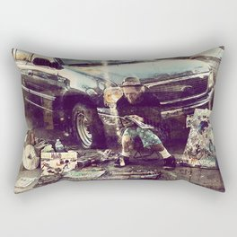 Focus on art Rectangular Pillow