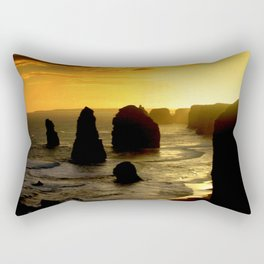 Dusk falls over the Southern Ocean Rectangular Pillow