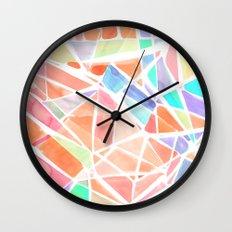 Pastello Peach Wall Clock