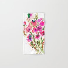 Bouquet Pink Hand & Bath Towel