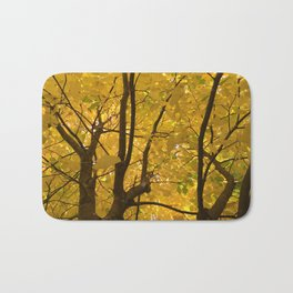 Under the trees - Autumn Bath Mat
