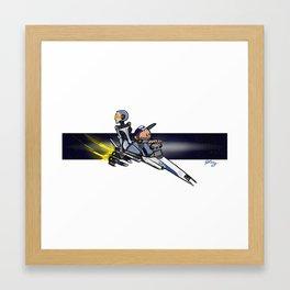Joker and EDI Framed Art Print
