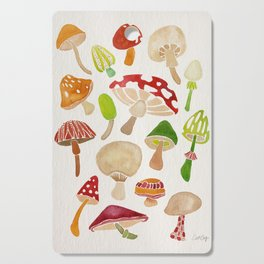 Mushrooms Cutting Board