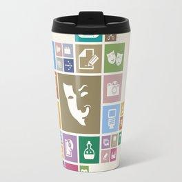 Art the designer Travel Mug