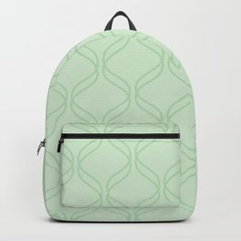 Double Helix - Light Greens #769 Backpack