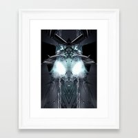 transformer Framed Art Prints featuring Transformer! by Robin Curtiss