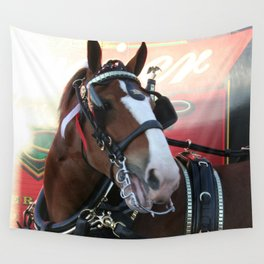 BUDWEISER Clydesdale Wall Tapestry