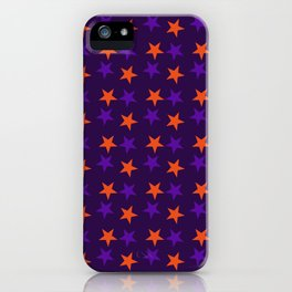 Magical Violet Stars Fall Halloween  2018 iPhone Case