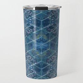 Crystal Geometry Travel Mug