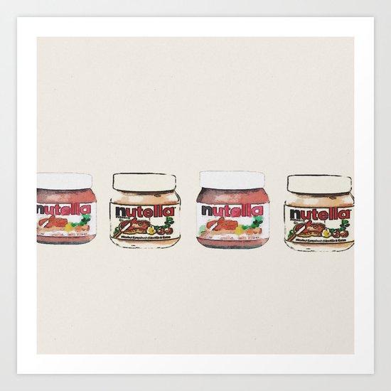 nutella-328 Art Print