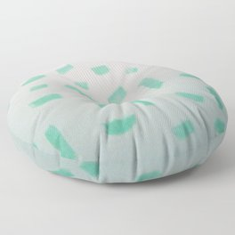 The Discombobulated Virus Floor Pillow