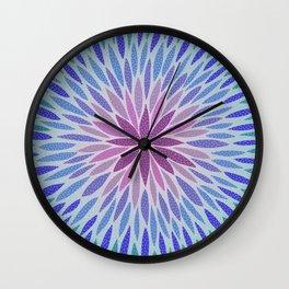 Floral II Wall Clock